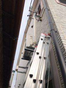 エアコン取り付け|名古屋市西区|室外機壁面金具