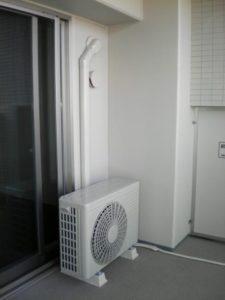 エアコン室外化粧カバー例