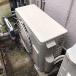エアコン取り付け工事1|室外機