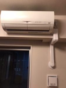 エアコン移設取り付け施工例 愛知県名古屋市昭和区にて